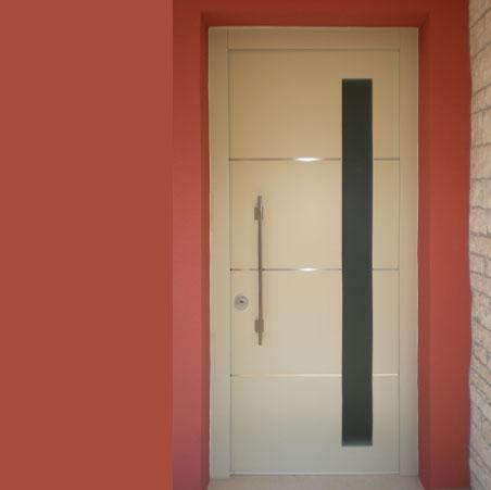 Casa immobiliare accessori portoncino ingresso con vetro - Porte ingresso vetro ...